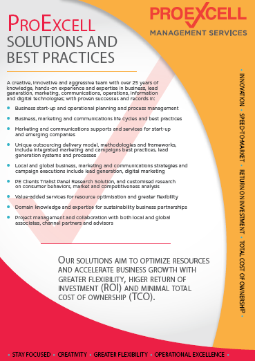 ProExcell Solutions and Services Brochure
